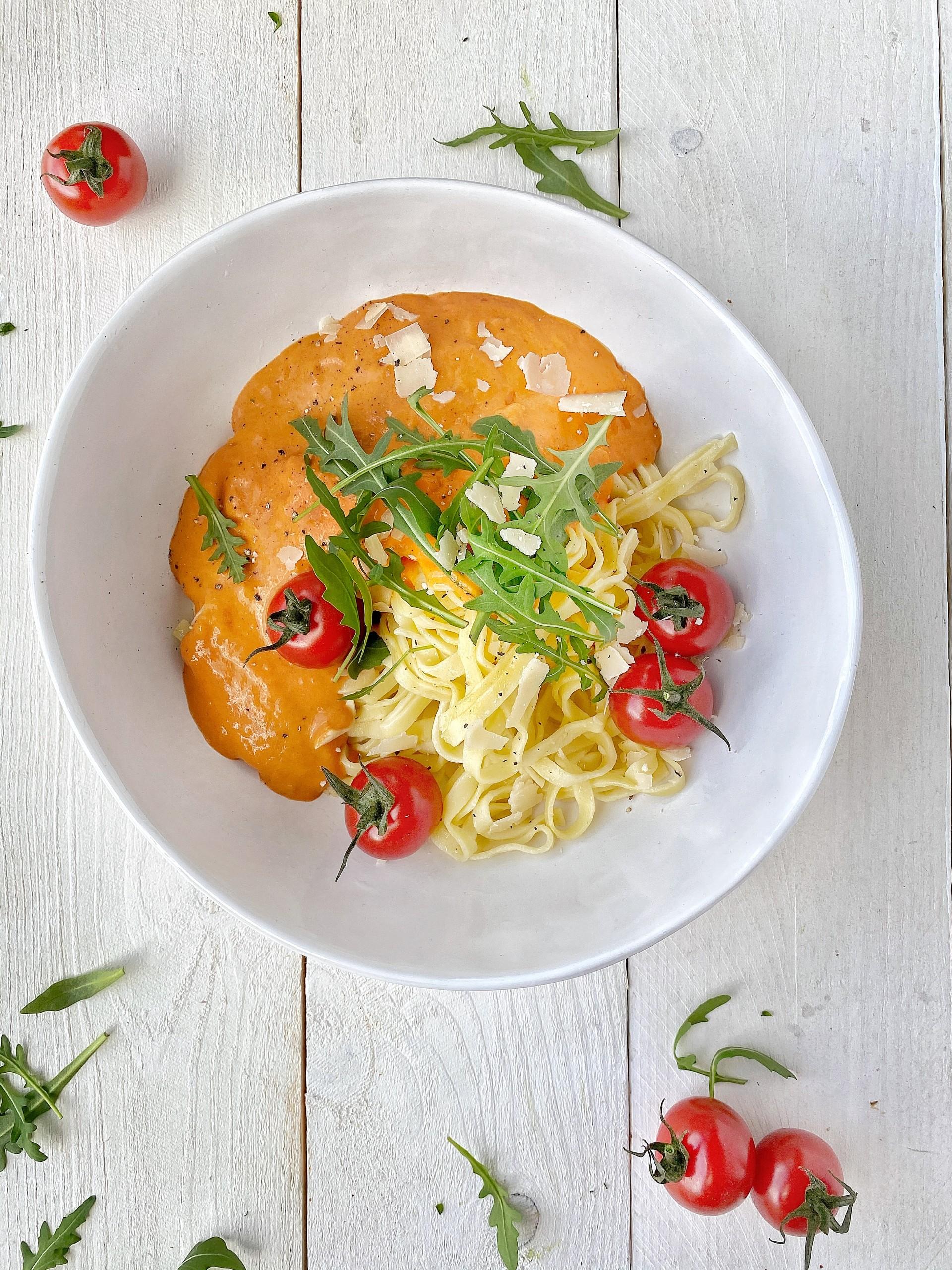 Italiaanse tomaat mascarponesaus